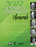 2013 Leadership Awards Program Handout