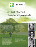2014 Leadership Awards Program Handout