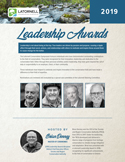 2019 Leadership Awards Program Handout