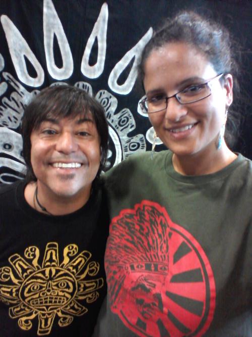 Pol Carlos and Aimee Rochard